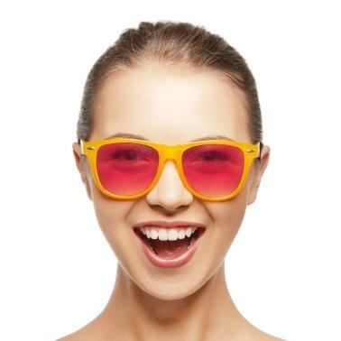 Bekijk de wereld door een roze bril
