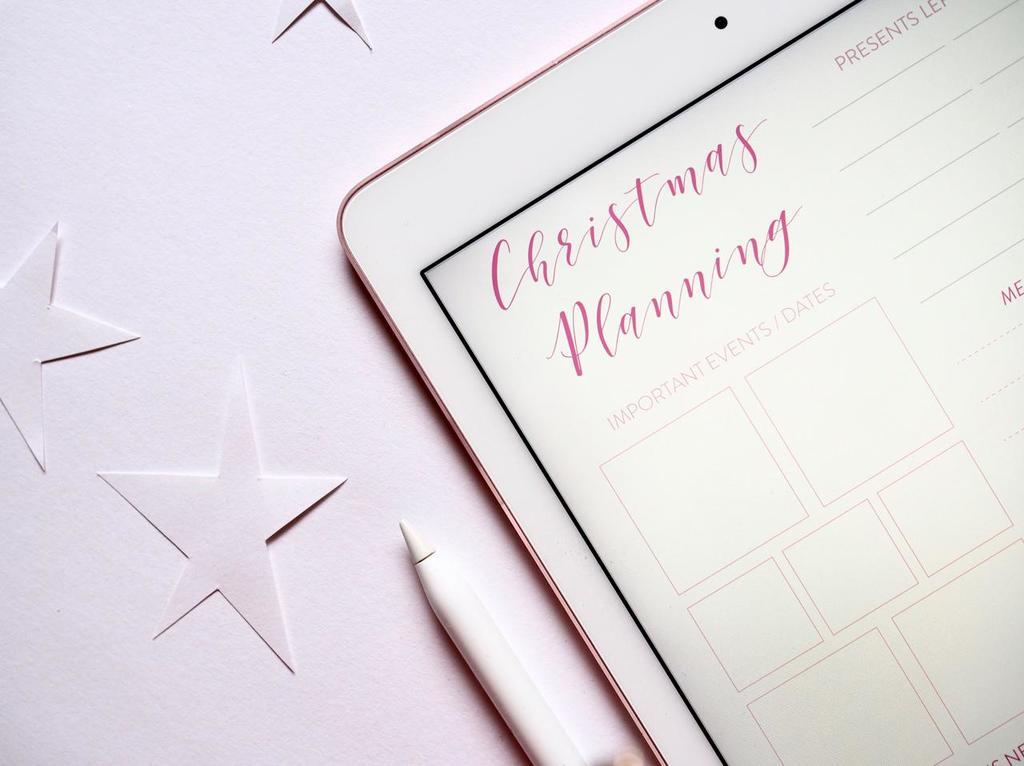 Beter leren plannen werkt ook met kerst